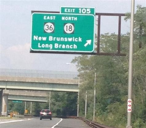 Exit 105 Garden State Parkway contract for second phase of exit 105 improvements awarded wordontheshore