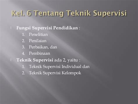 Supervisi Pembelajaran Dalam Profesi Pendidikan Syaiful Sagala ppt administrasi pendidikan siti suryani