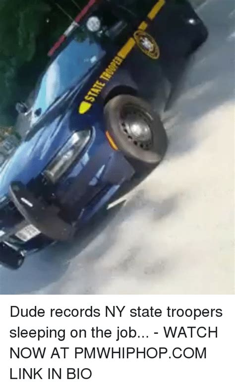 Records Ny Dude Records Ny State Troopers Sleeping On The Now At Pmwhiphopcom Link In