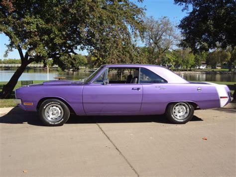 purple dodge dart seller of classic cars 1970 dodge dart plum