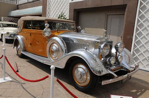 Nizam Nawab Rolls Royce Then And Now Cars Of Nizam And Other Maharajas