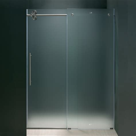 Frosted Shower Door by Choosing The Frameless Shower Doors For Your Bathroom Curbappeal Ramblings
