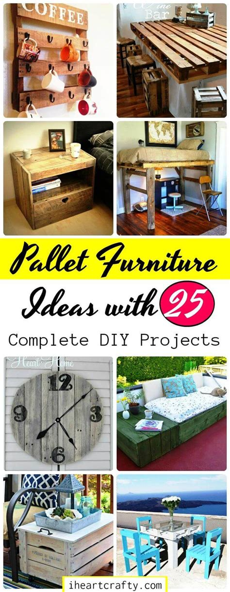 Pallet Furniture Diy Crafts Directory Of Free Projects Pallet Furniture Ideas With 25 Complete Diy Projects I Crafty