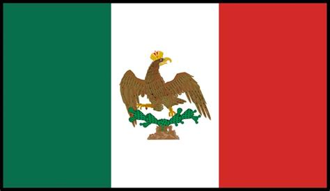 colors of the mexican flag the mexican flag