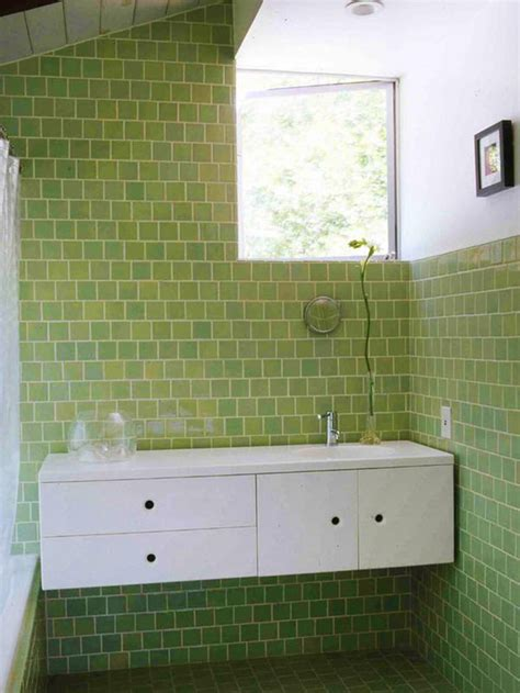 Green Bathroom Tile Ideas 40 Light Green Bathroom Tile Ideas And Pictures