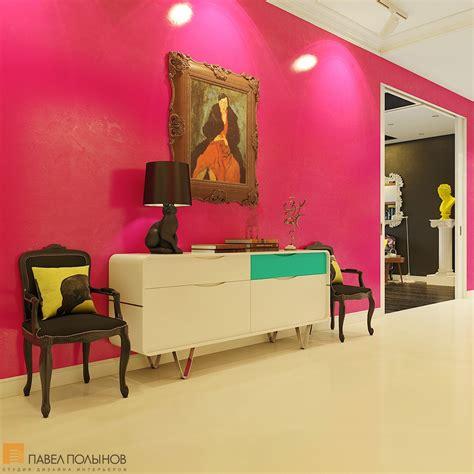 bright  cheerful interior design  pavel polinov