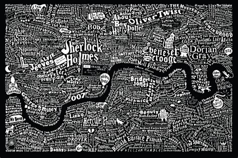 literary london 11 hand drawn maps to adorn any london lover s wall now here this time out london