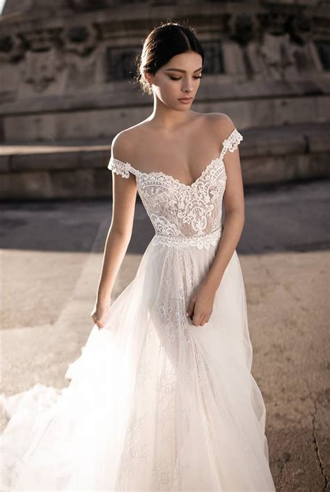 off shoulder wedding dress gali karten 2017 haute