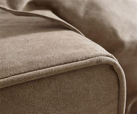 sofa variabel ecksofa sharona braun 234x220 cm mit kissen ottomane