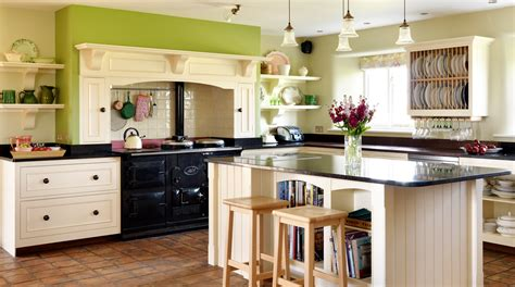 French Kitchen Cabinet by Original Traditional Farmhouse Kitchen From Harvey Jones