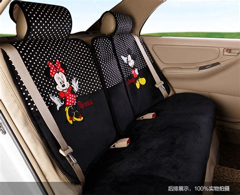 mickey and minnie seat covers new mickey minnie mouse car seat covers cushion