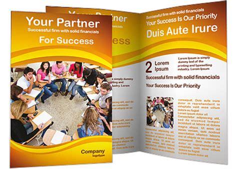 student brochure template csoforum info