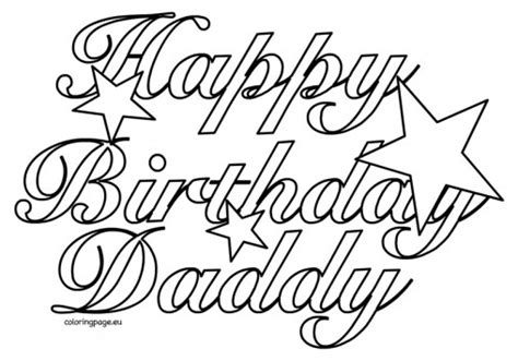 happy birthday son coloring pages happy birthday auntie coloring pages daddy stars grig3 org