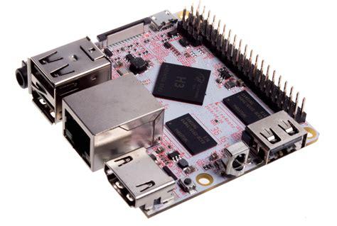 Ram Nano Komputer pcduino4 nano niewielki jednopłytkowy komputer z allwinner h3