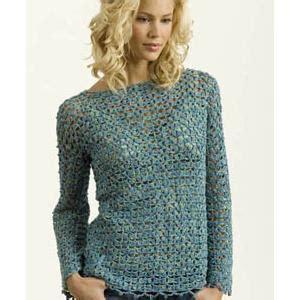 crochet pattern ladies jumper skill level easy