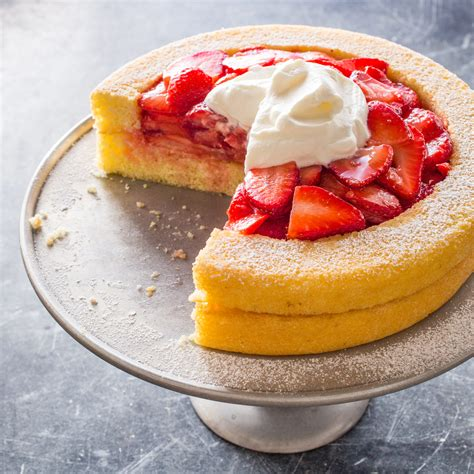 refined strawberry shortcake cooks illustrated