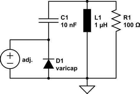 varactor biasing circuit varactor biasing circuit 28 images what are different types of diode fm pm sources