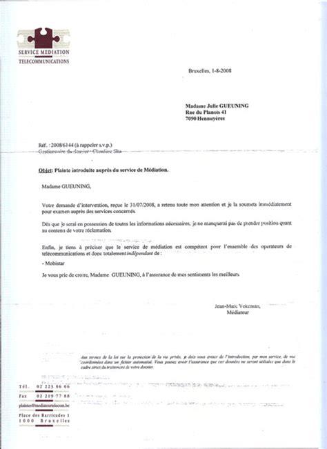 R Siliation Mandat De Gestion Lettre lettre r 195 169 siliation type