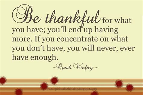 thankful quotes and spiritually speaking be thankful