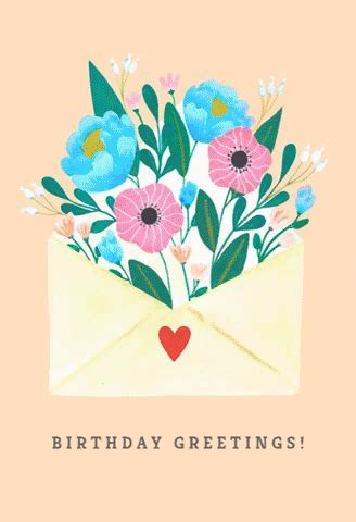 Happy Birthday Love GIF by Greetings Island   Find & Share
