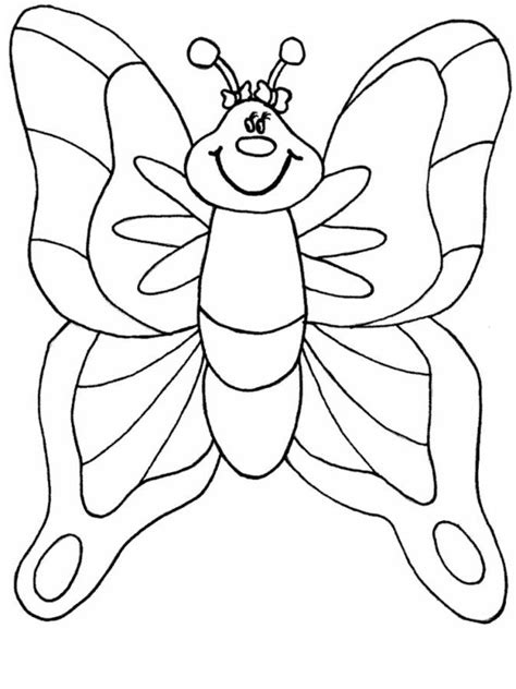 preschool butterfly coloring pages az coloring pages