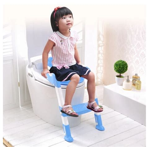 Baby And Portable Potty Seat Trainer Tempat Pipis Travel 2016 new design portable folding ladder toilet baby potty