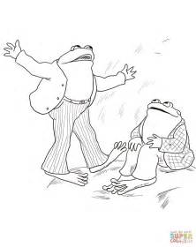 Frog And Toad Coloring Pages frog and toad are friends coloring page free printable coloring pages