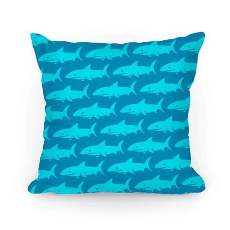 blue pattern pillow cases human shark pattern pillow dark blue homedecor pillow