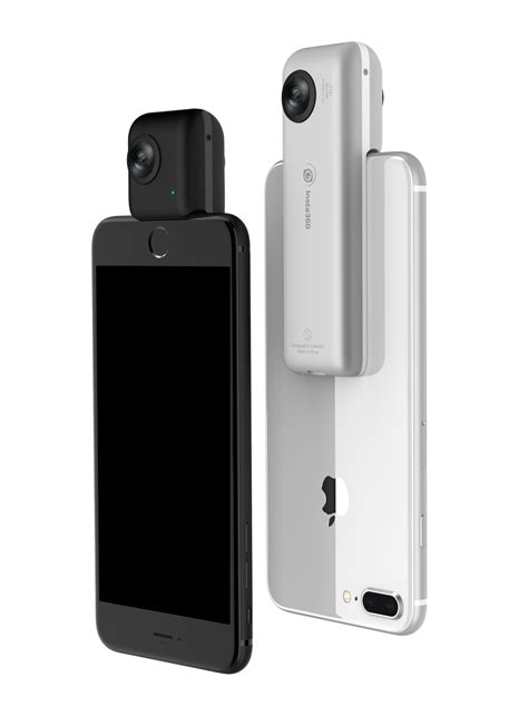 Insta360's new Nano S camera shoots 360-degree videos in