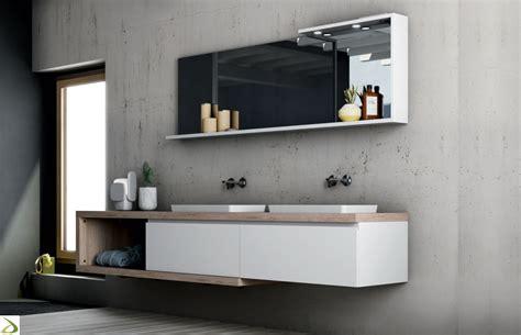mobili per lavandino bagno bagno con doppio lavabo bucaneve arredo design