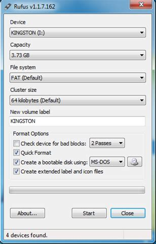 tutorial rufus windows 7 how to create a ms dos bootable usb flash drive taiwan