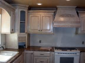 glazed pickled oak cabinets favorite places spaces