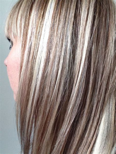 White Hair With Black Lowlights | ash blonde with highlights and lowlights google search