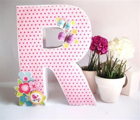 como decorar letras en papel c 243 mo hacer letras scrap decorativas de manera f 225 cil