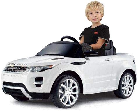 3 Kinder Neues Auto by Range Rover Evoque Weiss