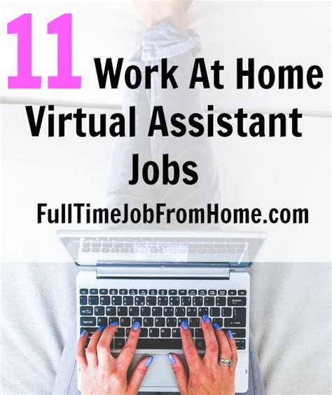 Online Virtual Work From Home - 11 virtual assistant jobs from home full time job from home