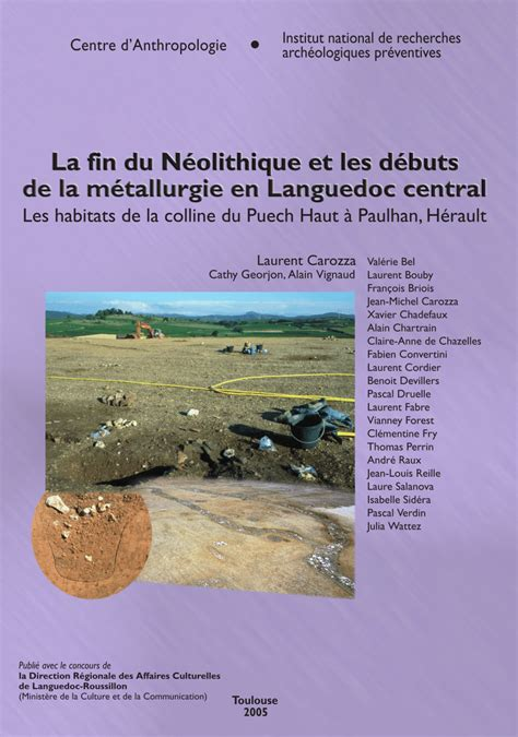 assimilation la fin du la fin du n 233 olithique et les d 233 buts de la pdf download available