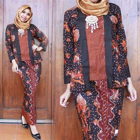 Fashion Wanita Baju Batik Kondangan Pesta Batik Muslimah Modern model baju batik muslim untuk pesta 1 remaja update remaja update
