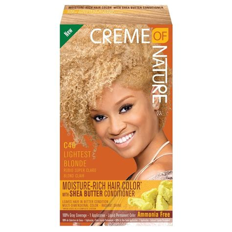 creme of nature hair color chart creme of nature shine color light