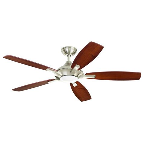 home ceiling fan home decorators collection petersford 52 in led indoor