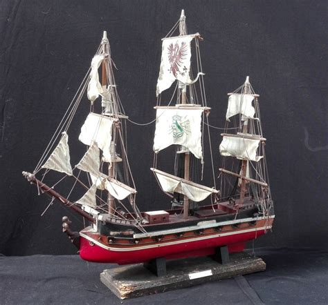 model boat in spanish an antique model boat of a spanish vessel catawiki