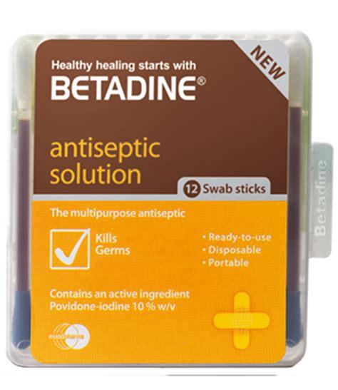 Betadine Stick betadine swab stick with povidone iodine for skin prep