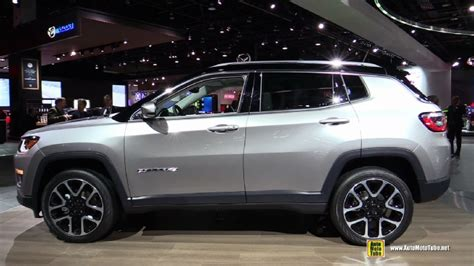 jeep compass sport 2018 2018 jeep compass limited at 2017 detroit auto show