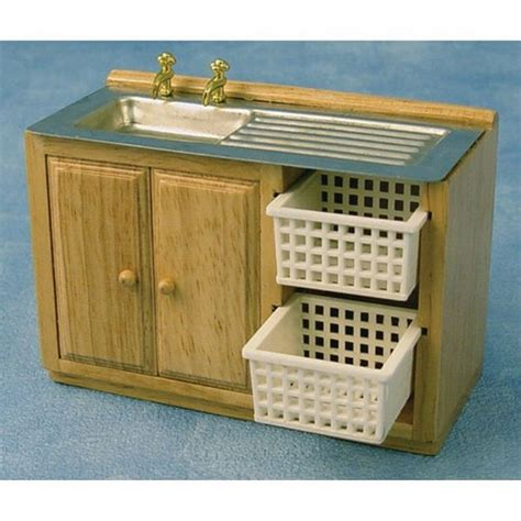 kitchen sink unit with baskets furniture df937 from