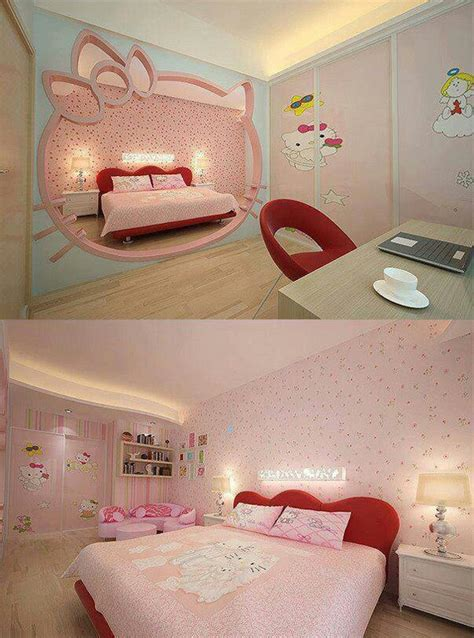 hellokitty bedroom hello kitty hidden room ideas