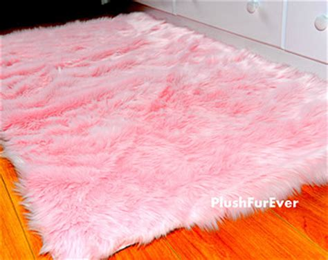 Pink Fluffy Rugs by Attractive Pink Rug For Your Home Darbylanefurniture