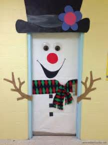Christmas Door Decoration Ideas winter door decorations for school