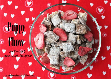 puppy chow recipe without peanut butter s day puppy chow without peanut butter gluten free dairy free soy free