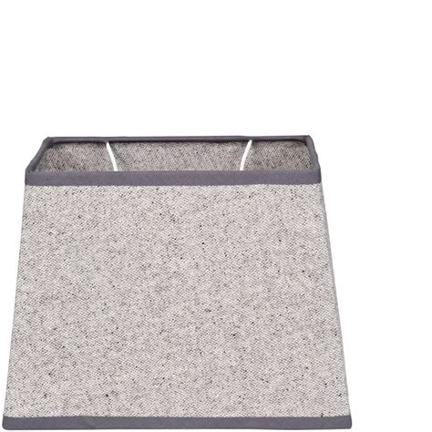 Grey And White L Shade by Oxford Cotton Shade Rectangular Light Grey L 187 Lifestyle