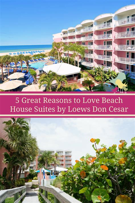 beach house suites 5 great reasons to love beach house suites by loews don cesar carrie on travel